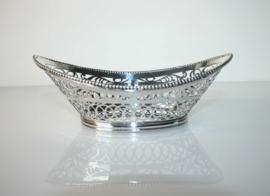 Antiek zilveren bonbonmandje 1917