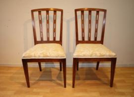 Set antieke Hollandse stoelen, 18e eeuw