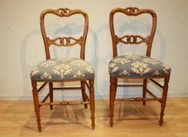 Set antieke stoeltjes