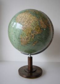 Vintage Globe Columbus