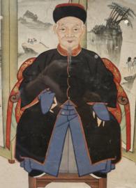 Antiek Chinese scroll