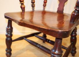 Antieke Windsor armstoel