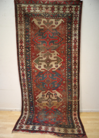 Antiek Perzisch kleed Kazak 236 x 106 cm