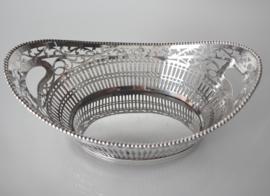 Antieke zilveren bonbonmand 1926