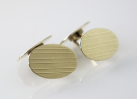 Vintage gouden manchetknopen