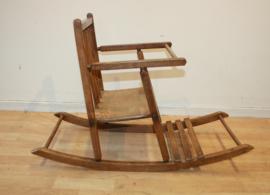 Vintage kinderschommelstoel