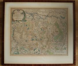 Antieke landkaart van Brabant 1752, Vaugondy