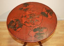 Antiek Chinees lakwerk tafeltje