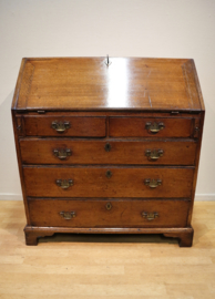 Antieke Engelse secretaire, 18e eeuw
