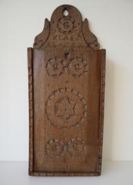 Antieke Hollandse schooltas, 18e eeuw