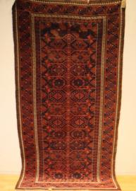 Perzisch kleed Belouche 212 x 110 cm.