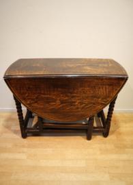 Antieke Engelse gateleg tafel 18e eeuw