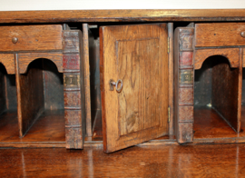 Antieke Engelse secretaire