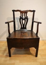 Antieke Engelse stoel 18e eeuw