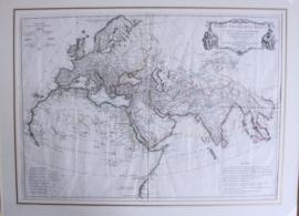 Antieke kaart 1781