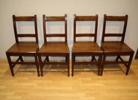 Vier antieke Engelse stoelen ca 1800