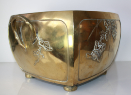 Antieke Japanse bronzen Cachepot
