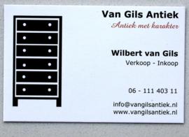 Welkom bij Van Gils Antiek. Hebt u vragen, neem gerust contact op.