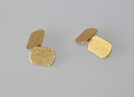 Vintage 18 karaat gouden Italiaanse manchetknopen