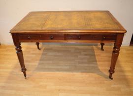 Antieke Engelse schrijftafel, partnerdesk