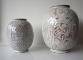 Set vintage vazen Wim Visser