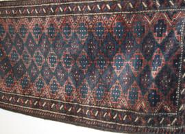 Langwerpig Perzisch kussen Belouche 99 x 44