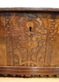 Antiek dekenkistje 18e eeuw.