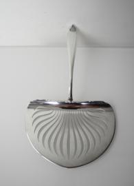 Antieke zilveren aspergeschep 1931