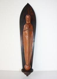 Houten Art Deco Madonna