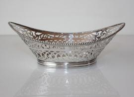Antiek zilveren bonbonmandje 1920