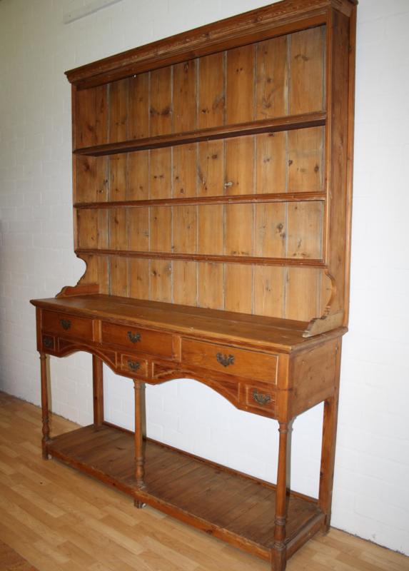 Antiek Grenen Winkelkast.Antieke Grenen Kast Bufferkast Cupboard Gils Antiek