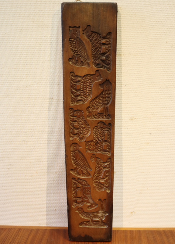 Antieke Hollandse speculaasplank