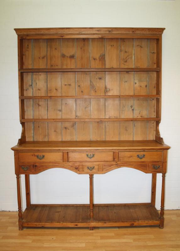 Antieke Grenen Kast Bufferkast Cupboard Gils Antiek