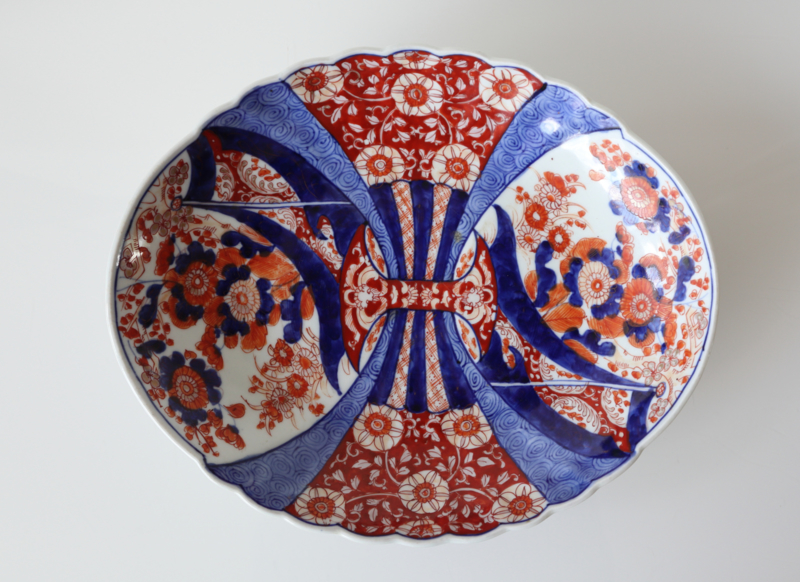 Antieke ovale Imari schotel