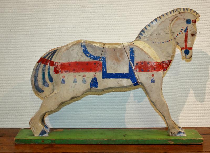 Antiek speelgoed paardje   Varia   Van Gils Antiek