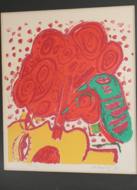 Corneille (1922-2010) litho 1977