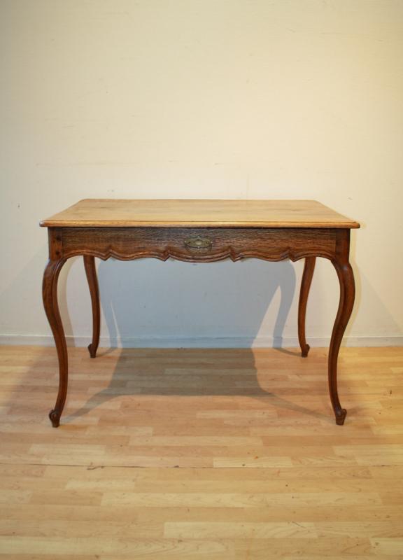 Spiksplinternieuw Antieke Franse tafel antique French Louis Quinze table BJ-16