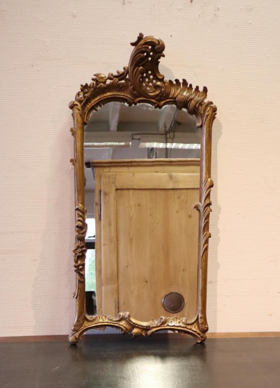 Antieke Louis XV spiegel