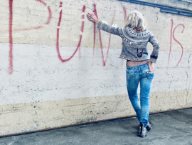 PUNK SWEATER BY MERET BUTZBERGER