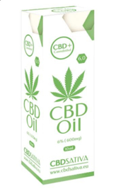 Huile CBD Sativa 6% - 10 ml