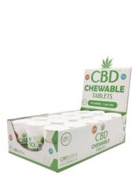CBD Chewable Tablets -  10 mg