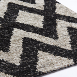 Brinker Carpets - Geometrics (rombu beige/black)