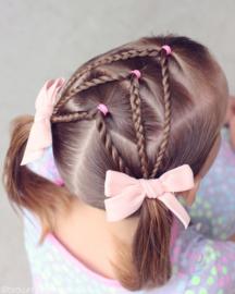 Haarcreaties voor meisjes