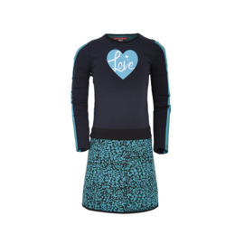 Sportief jurkje met hart, Lovestation22