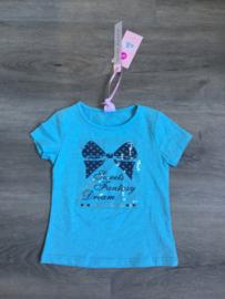Blauw t-shirt, Maat 92/98