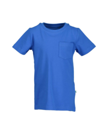 Fris blauw basis t-shirt, Blue Seven
