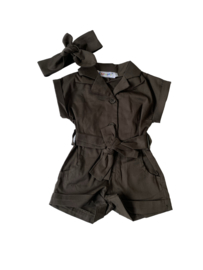 Playsuit Khaki Green
