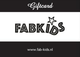Fabkids | Cadeaubon