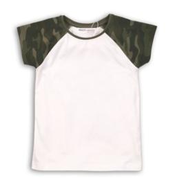 Minoti | T shirt Camo Sleeve