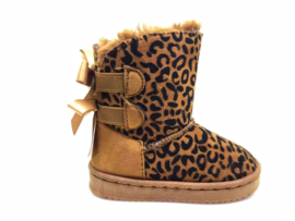 Boots Leopard Camel